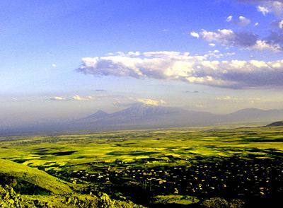 from Ujan across the Arartian plain